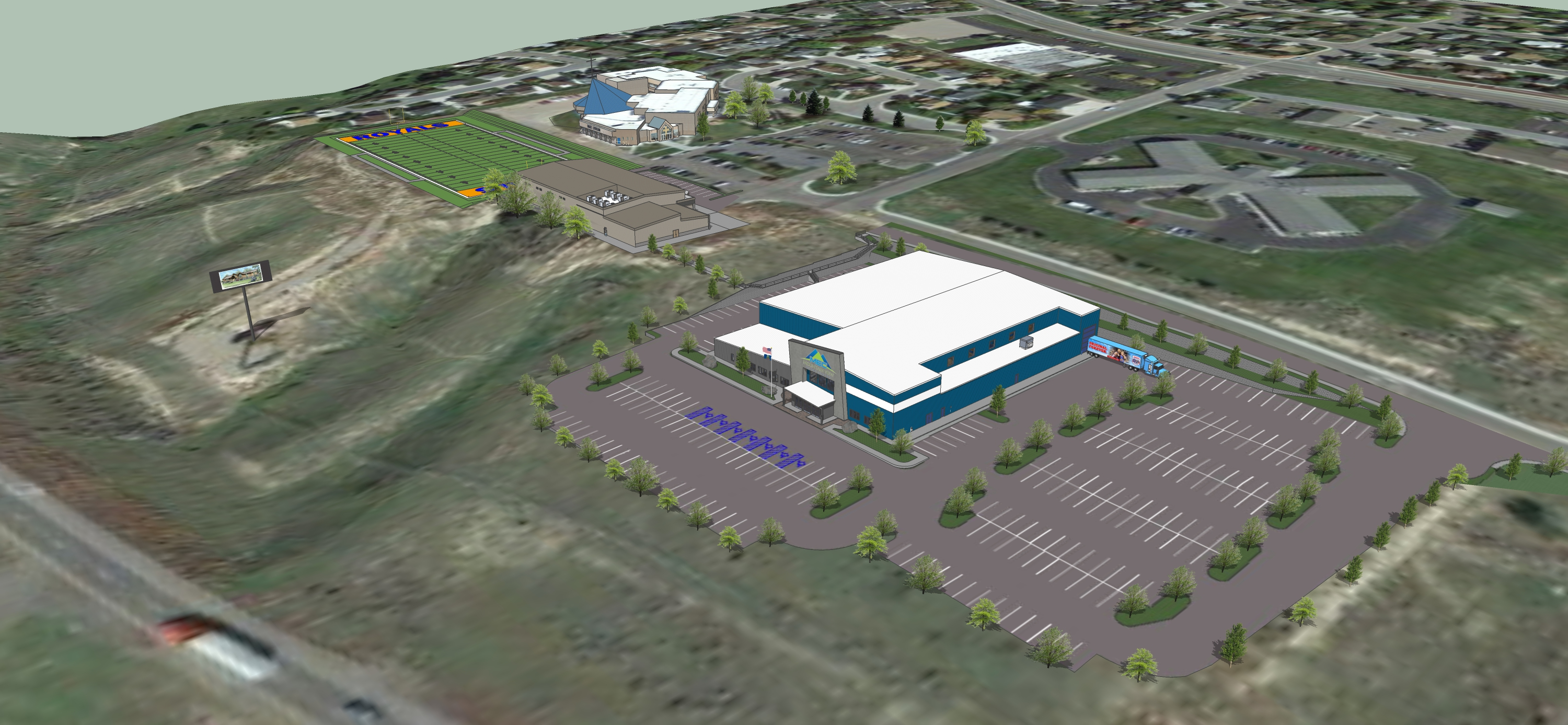 Mountain View Event Center 3D Facility Slideshow 1