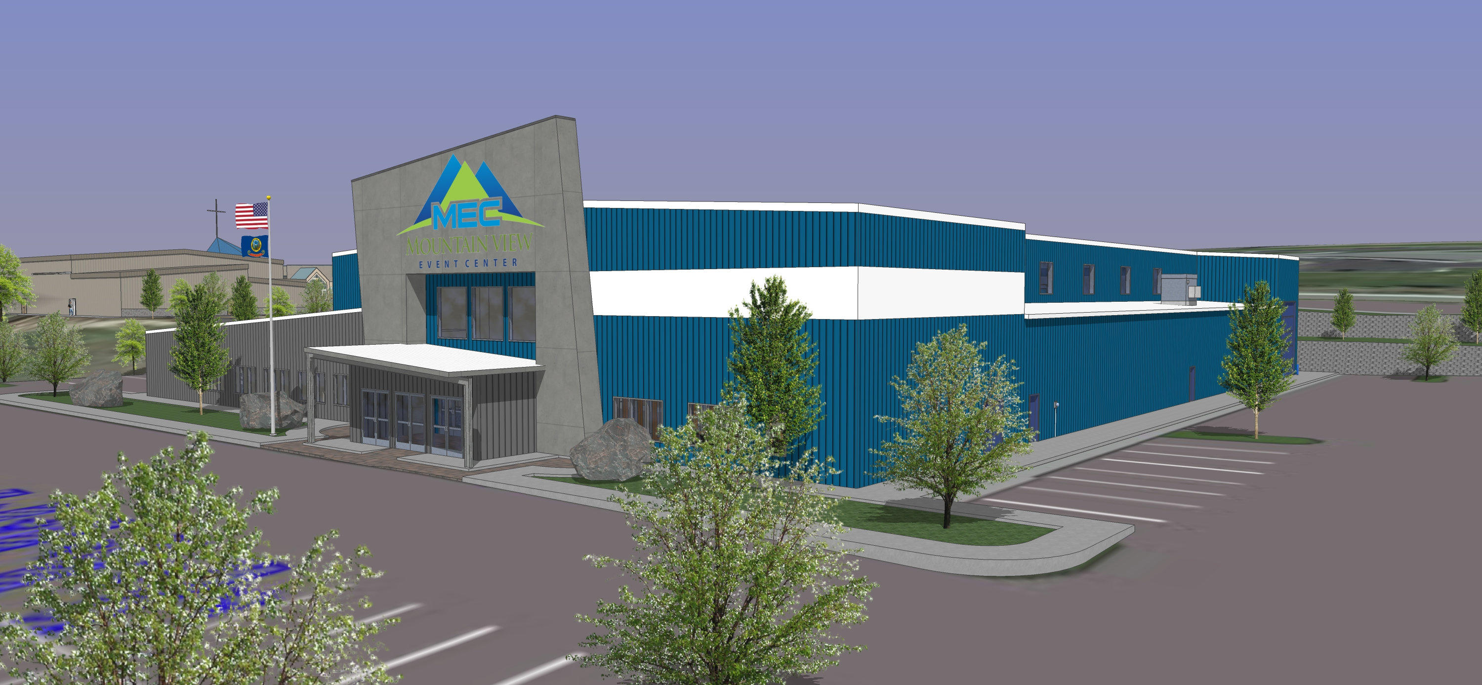 Mountain View Event Center 3D Facility Slideshow 10