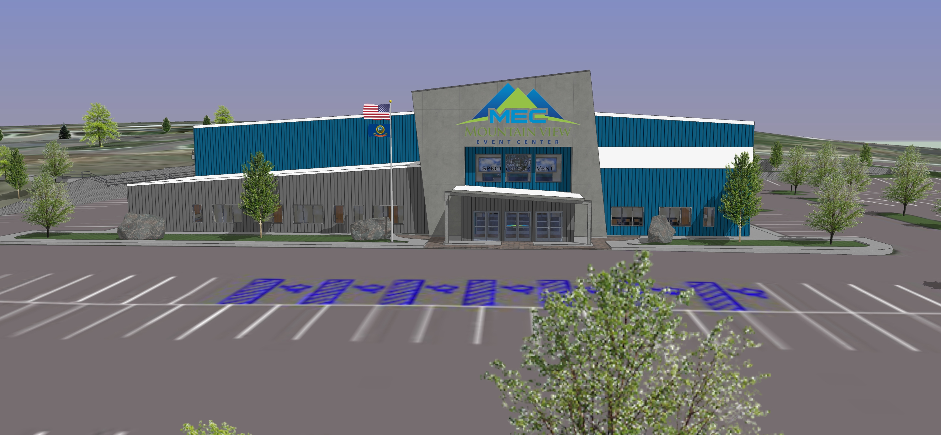 Mountain View Event Center 3D Facility Slideshow 11