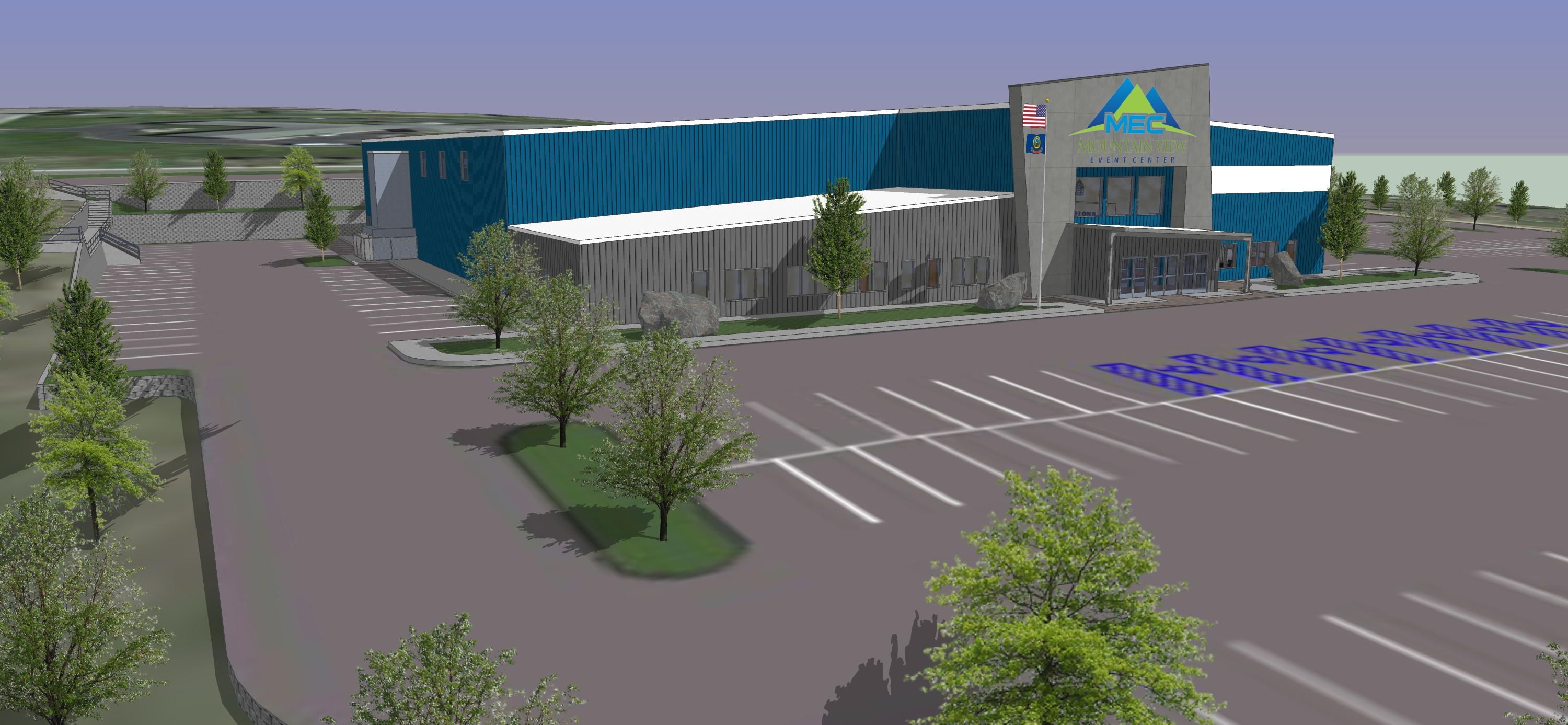 Mountain View Event Center 3D Facility Slideshow 12