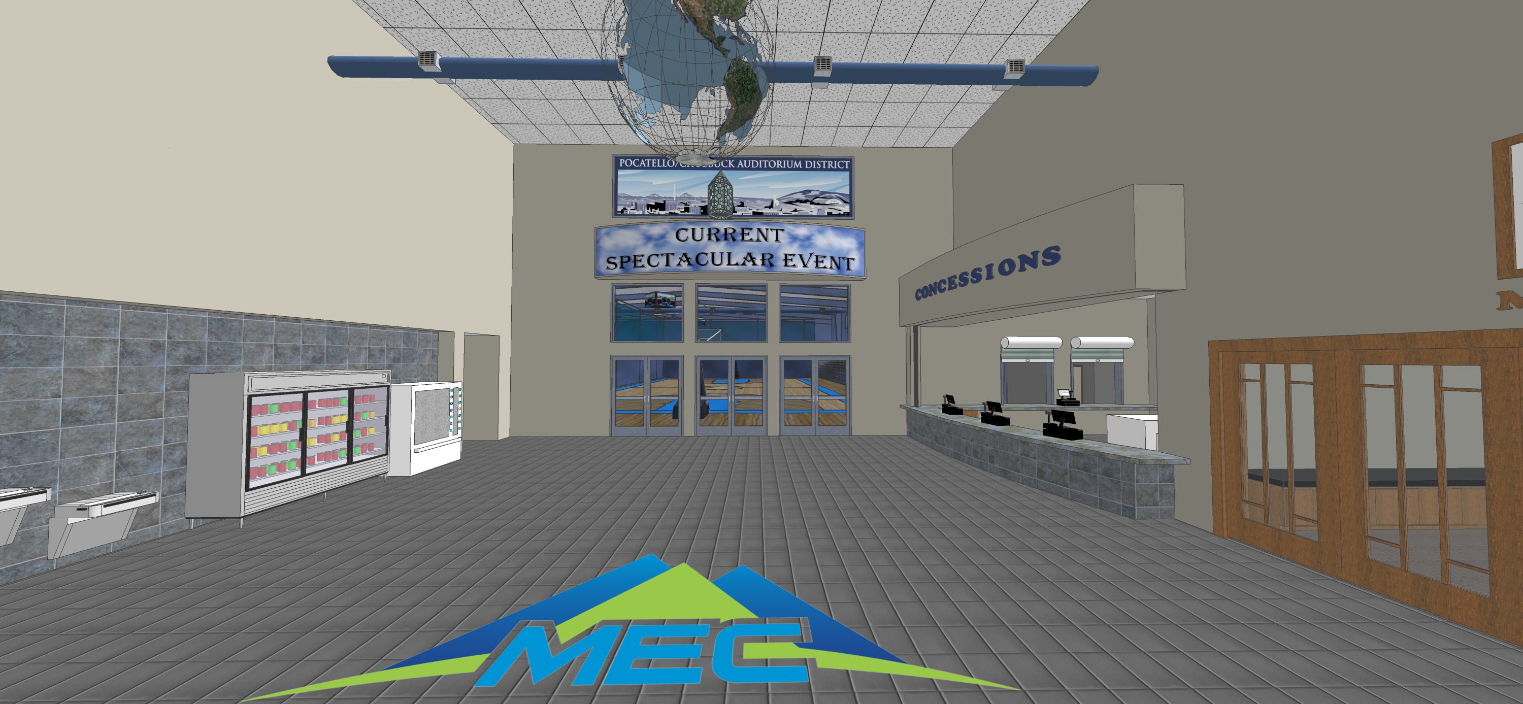Mountain View Event Center 3D Facility Slideshow 20