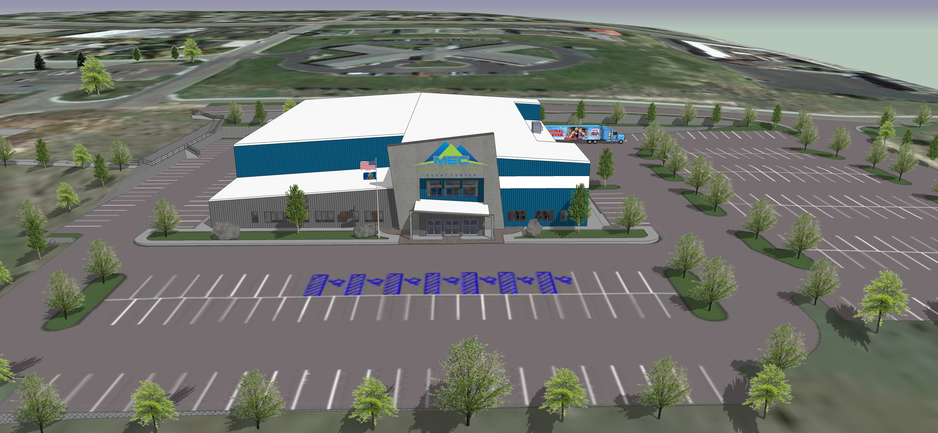 Mountain View Event Center 3D Facility Slideshow 4