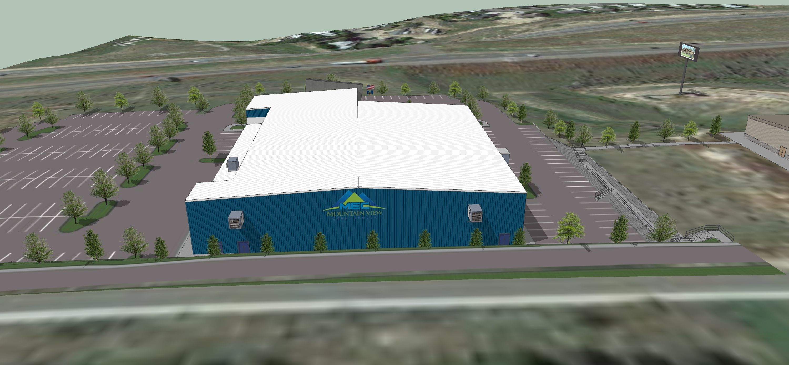 Mountain View Event Center 3D Facility Slideshow 8